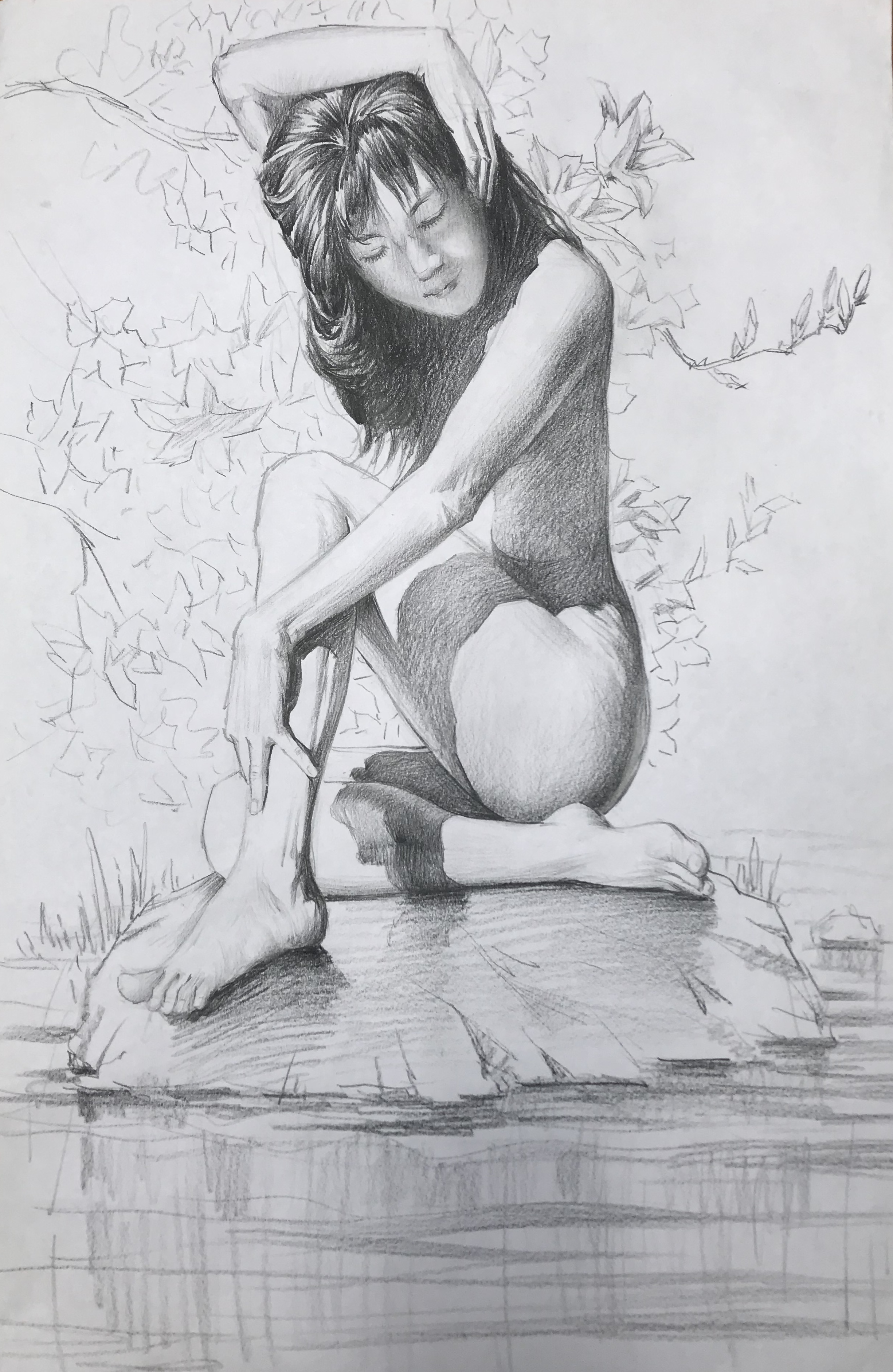 Pencil life drawing (4)