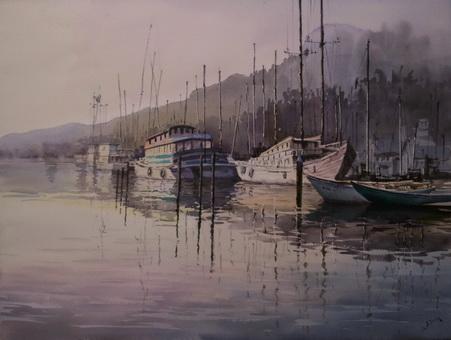 Sausalito at Daybreak
