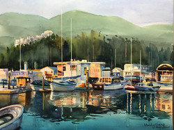 Boats and Their Reflections
