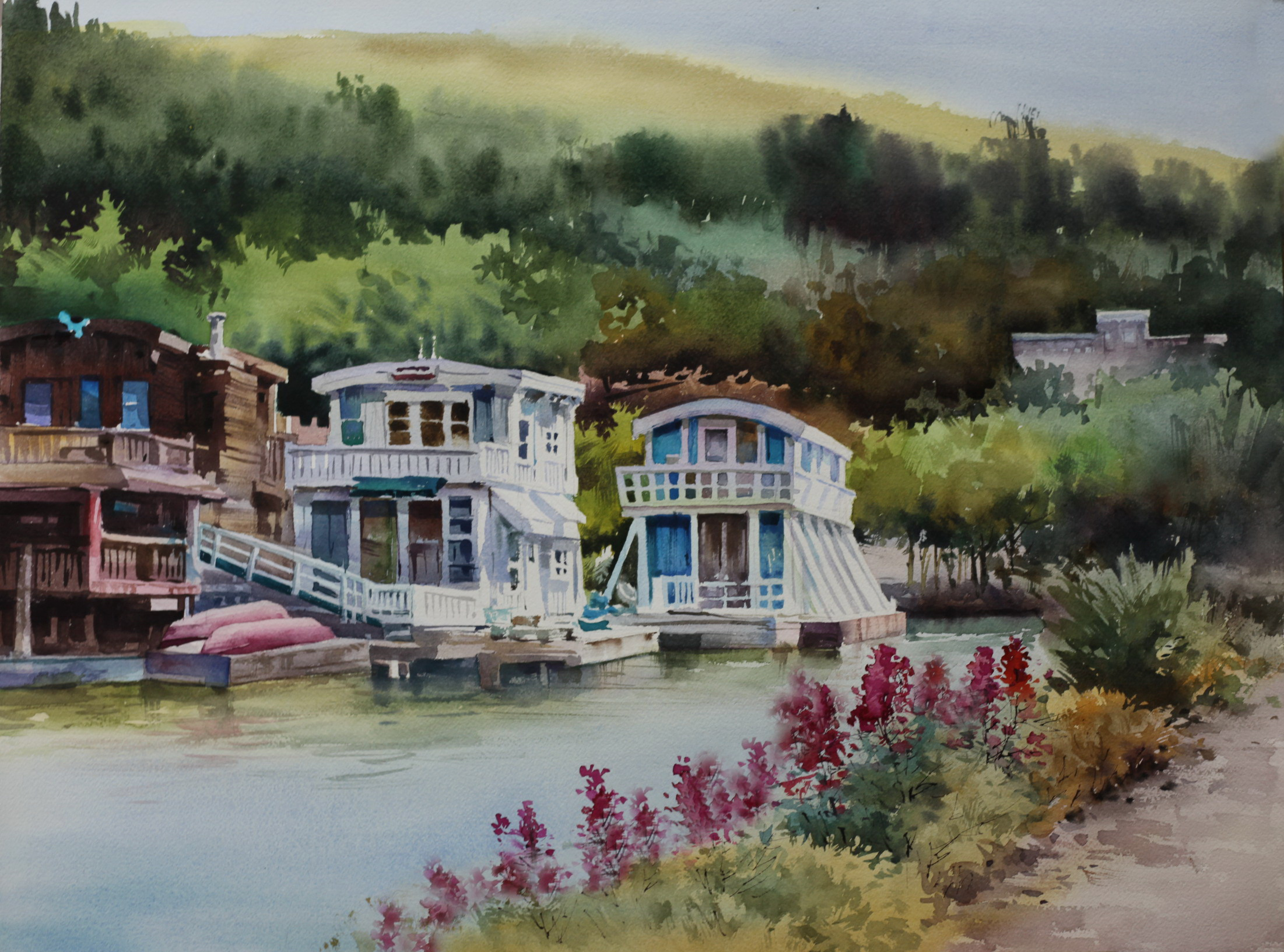 House Boats, Sausalito, California