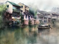 A summer cruise along Yangtze River