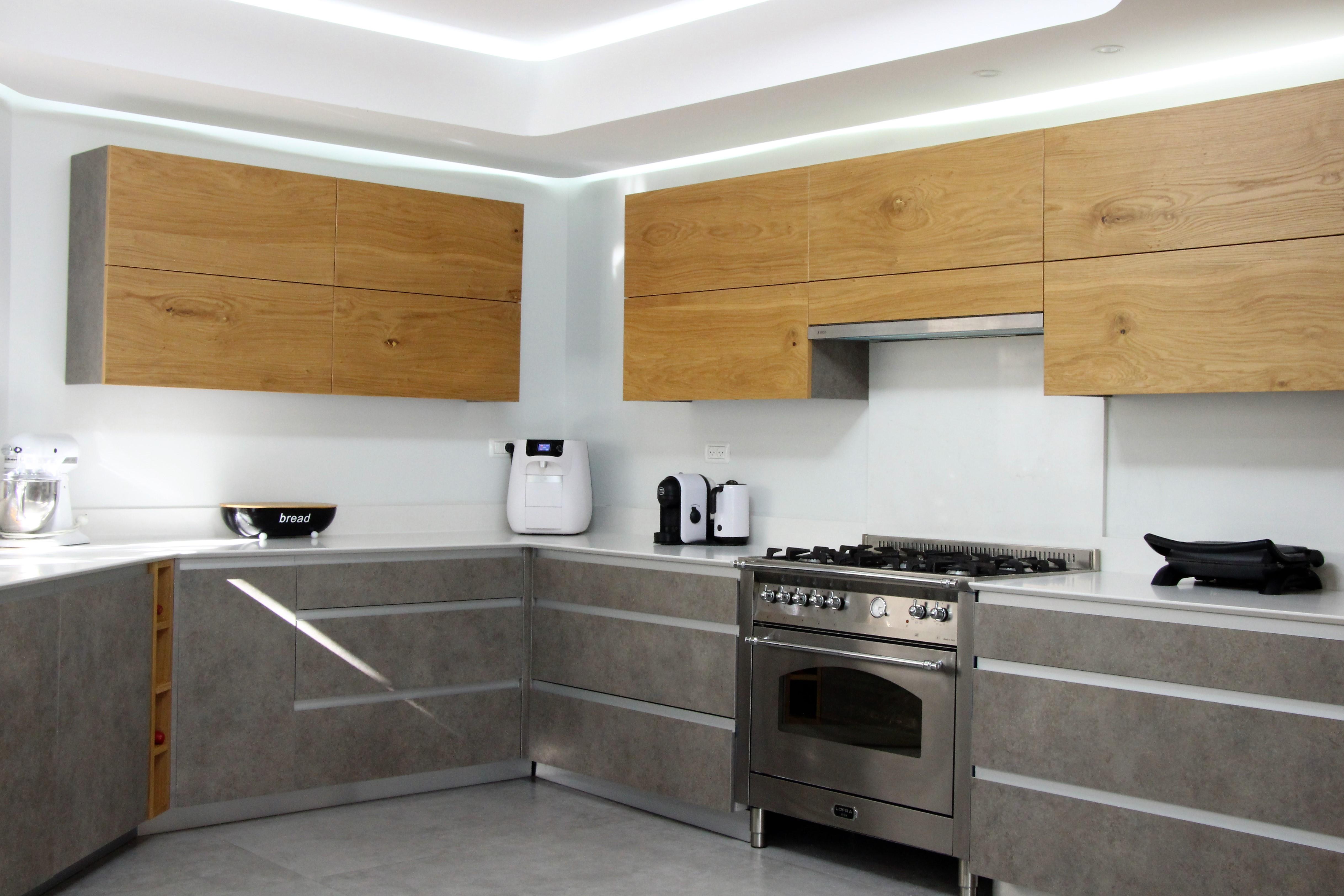 מטבח מודרני אורן הנגר