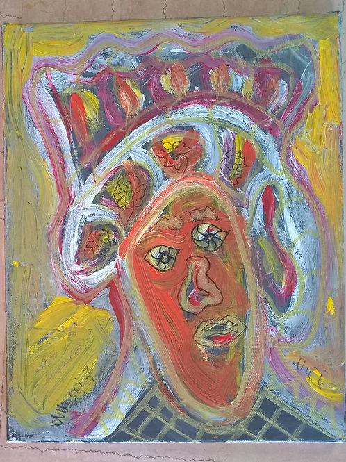 Portrait gold