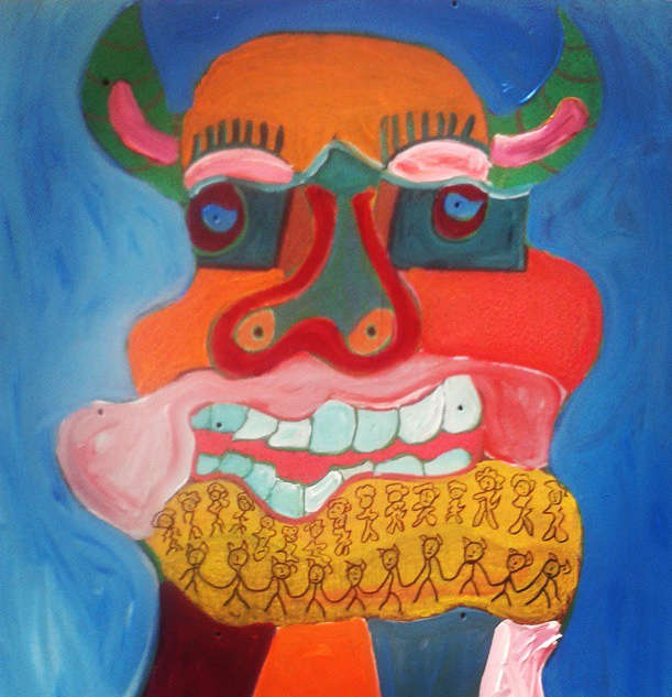 Instagram - Taurus. Acrylic on wood_edited.jpg
