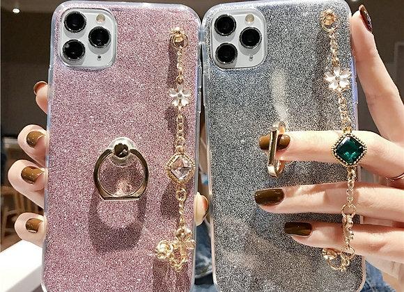 Luxury Bracelet Lanyard Phone Case
