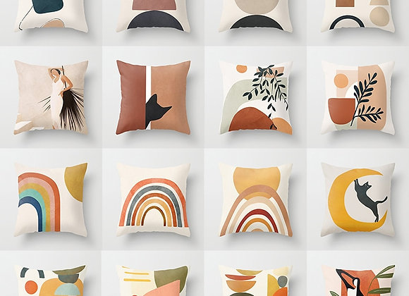 Geometry Abstract Cushion Covers for Home Sofa Chair Decorative Pillowcases