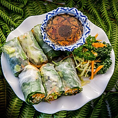 A1 - Fresh Spring Rolls - 3 Pieces