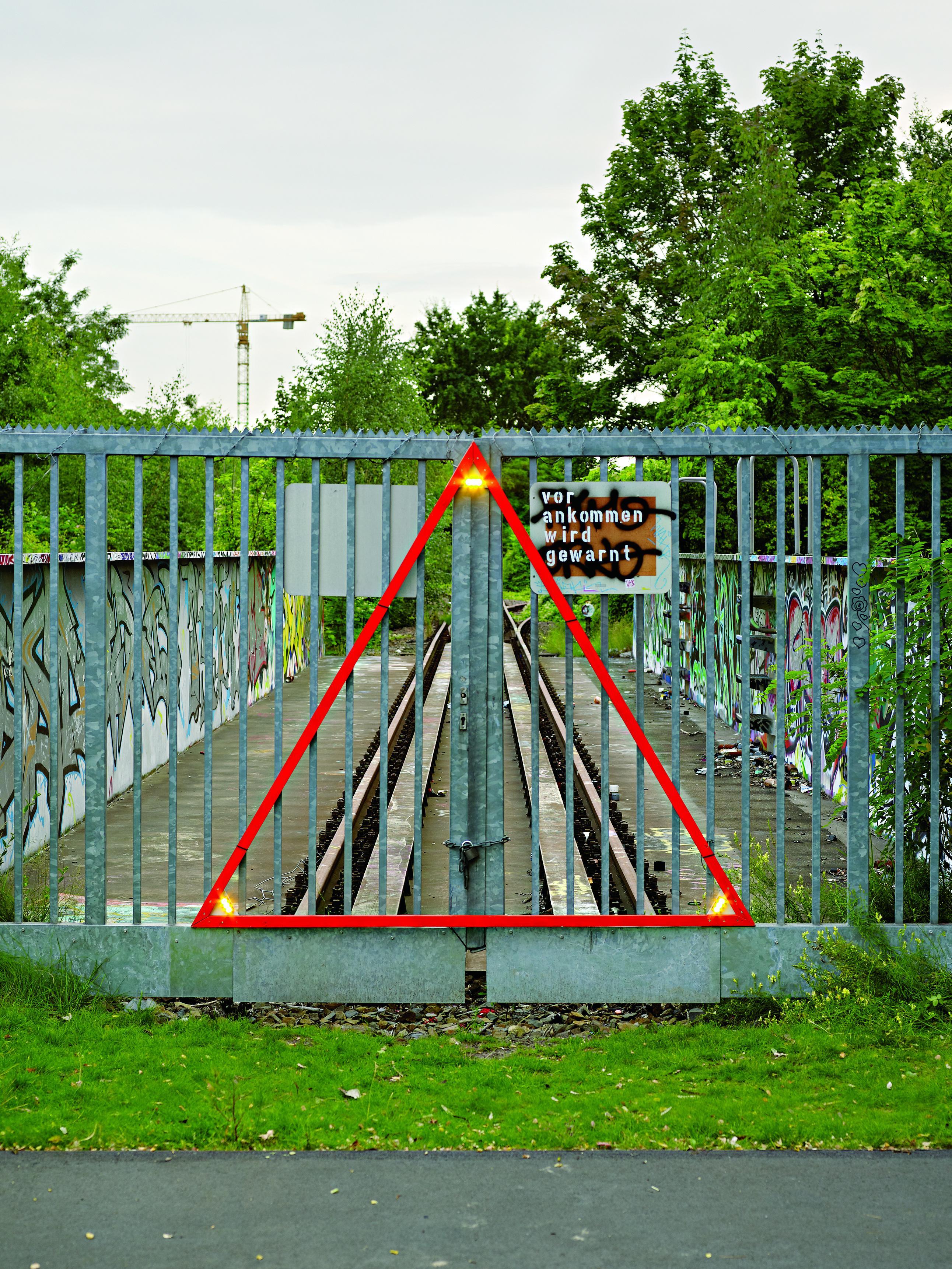 Park am Gleisdreieck_vor ankommen wird gewarnt_susanne muller_Foto Michel Bonvin