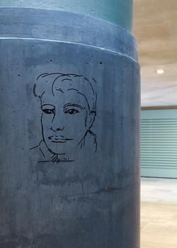 U-Bahnhof Bundestag_Stimmen_Mona Jas_2_Foto Michel Bonvin