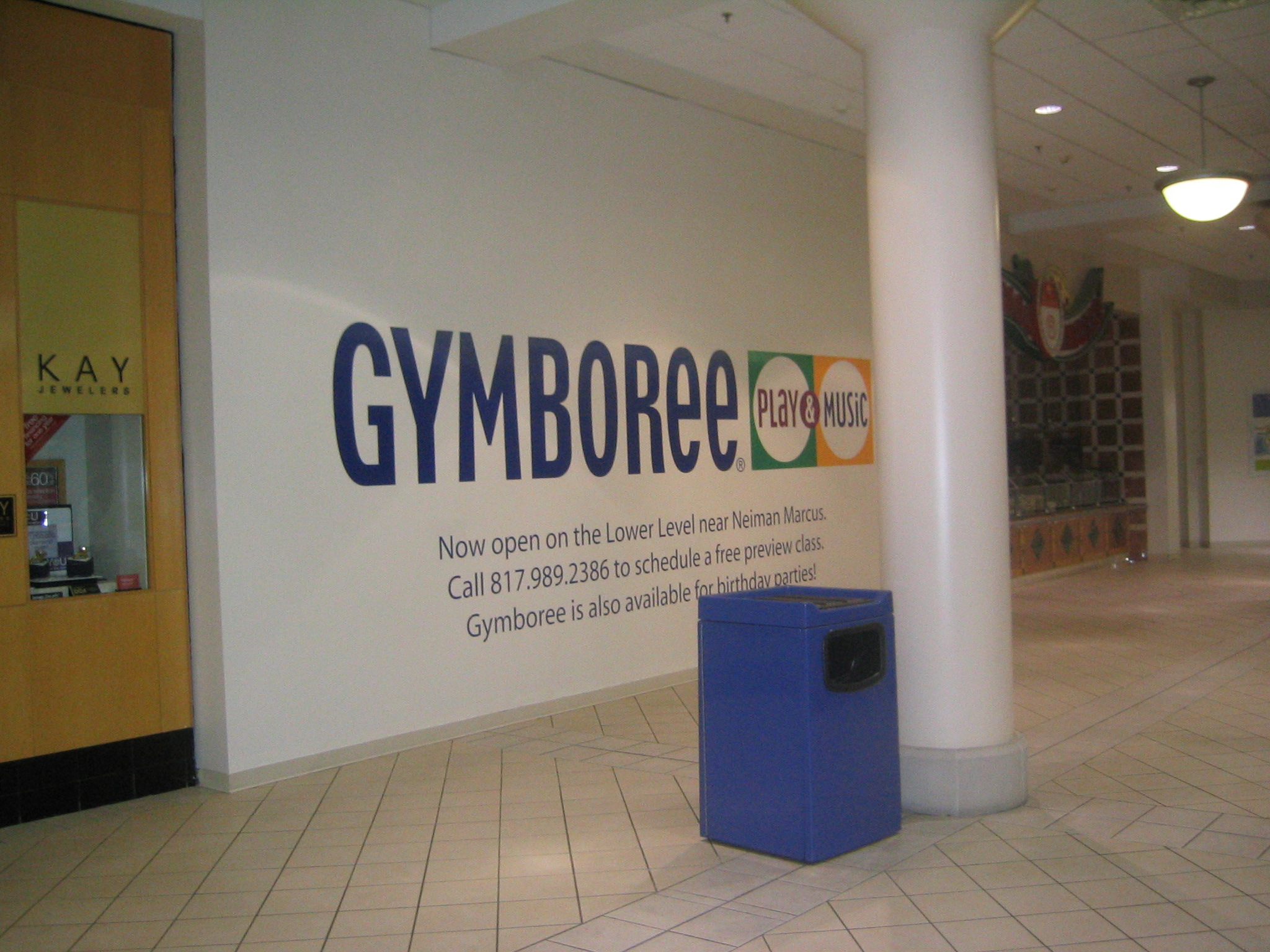 Gymboree Wall Display