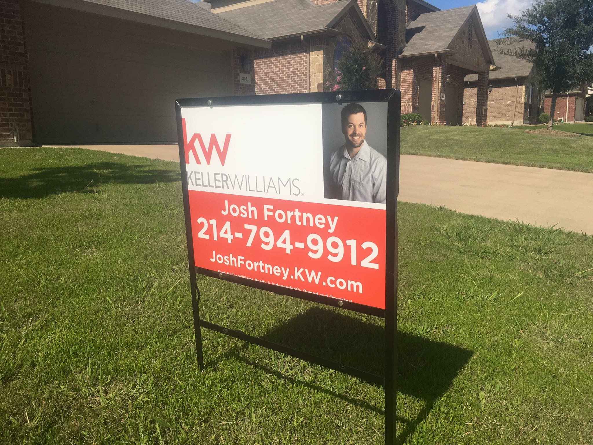 Metal Real Estate Signs