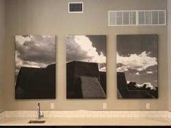 3'x5' Black & White Canvas