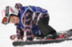 Ребенок на горных лыжах