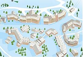 Карта Residence Arc 1950