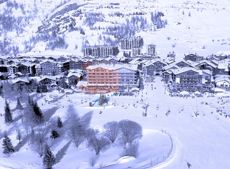 Валь д´Изер, ski-in/ski-out