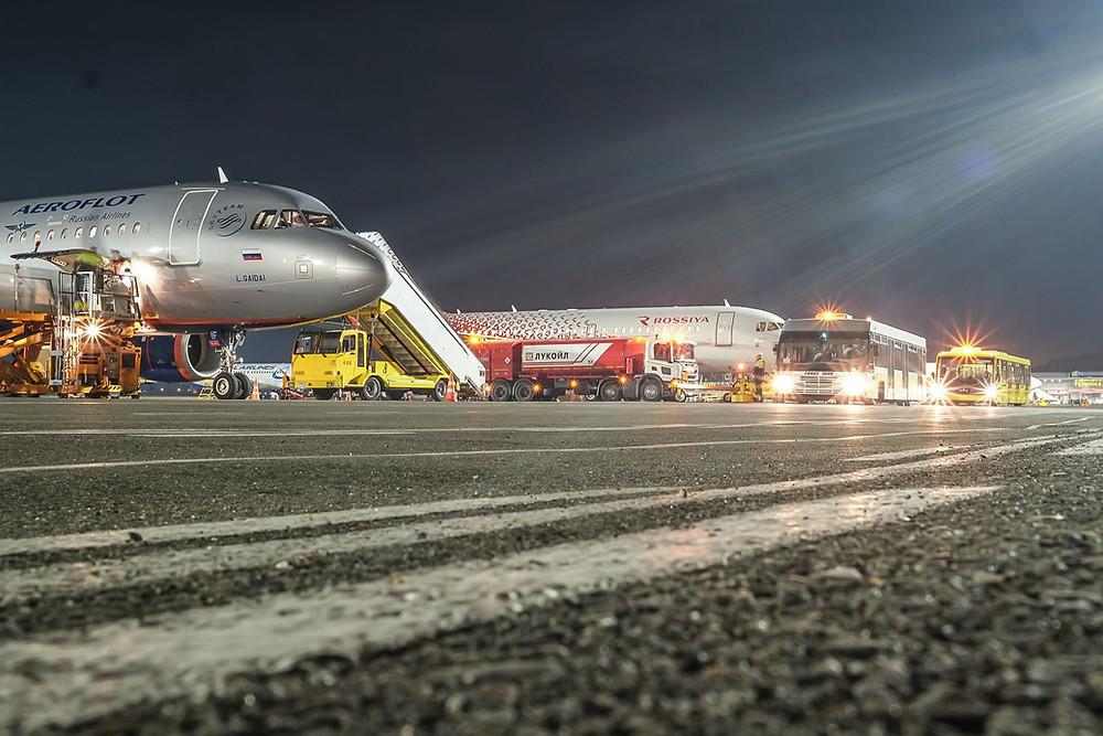 Аэропорт в городе Сочи