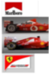 Marlboro is no longer a sponsor of Ferrari or is it? Our subcousious can remind this can of subtle information