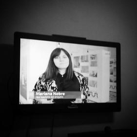 """Entrevista para o canal Arte 1 sobre a exposição """"60 anos de cor em SP """" (Ed. Planalto/ Artacho Jurado)."""