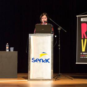 """Seminário Comunicação e Design """"Reviravolta"""". 2014. Senac Santo Amaro."""