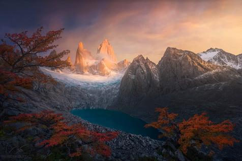Autnum paradise / Fitz Roy Patagonia
