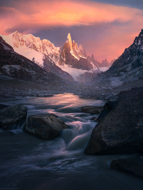 Flow of harmony  /  Cerro Torre