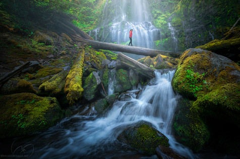 The temple of life / Proxy falls