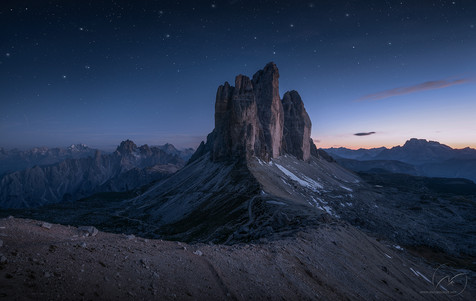 The Power of Twilight  /  Dolomites