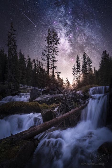 Through cosmic feelings