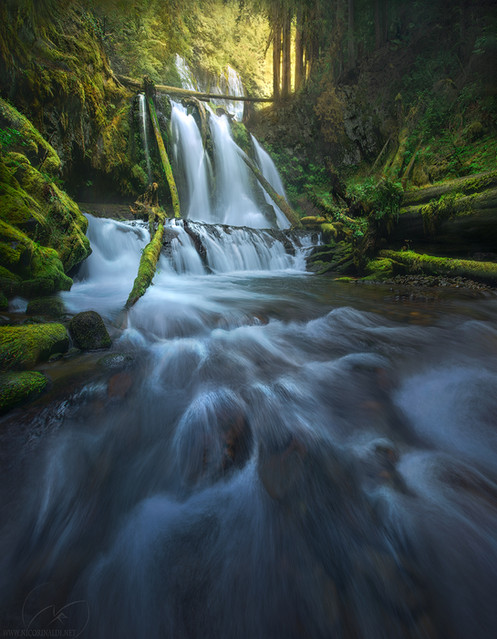 Wild creek United States  panther falls