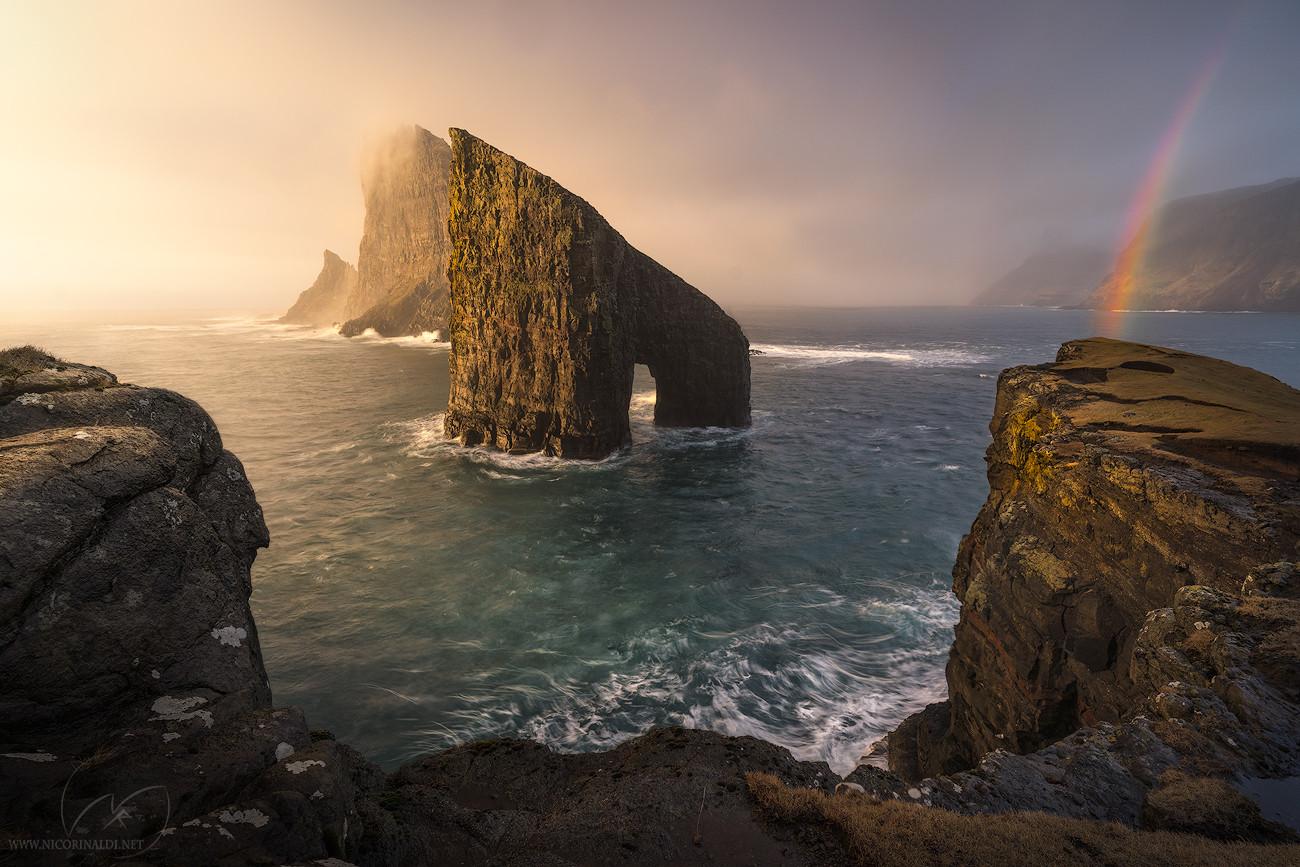 the door of the destiny / Faroe Islands