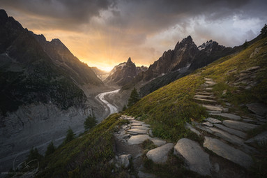 The ancient path of the gods / French Alps