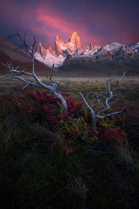 El Chalten Fitz Roy sunrise
