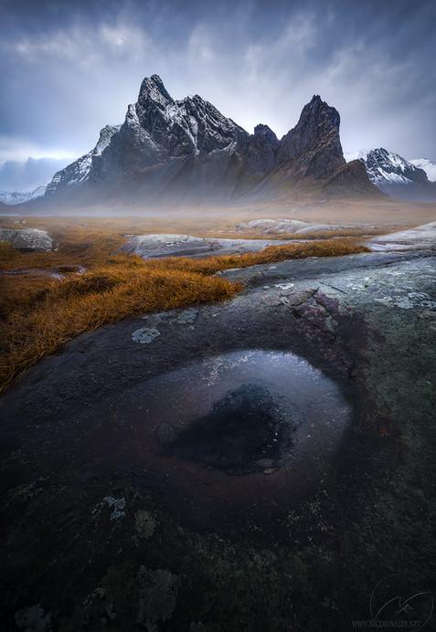 Icelandic eye / Eystrahorn