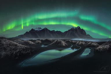 Vikings in the sky / Stokkness Iceland
