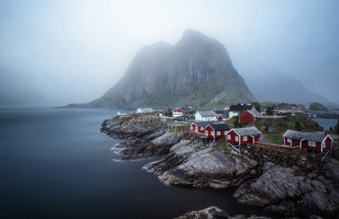 Hamnoy in the Mist