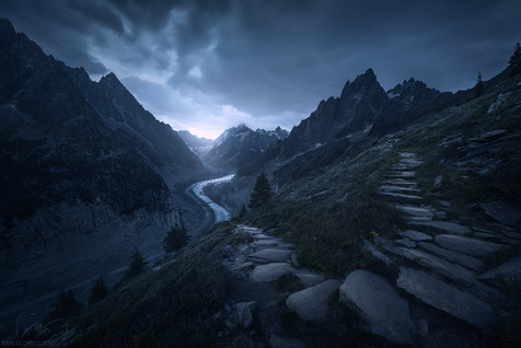 French Alps landscape photography