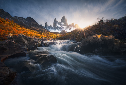 Fitz Roy power / Patagonia El Chalten