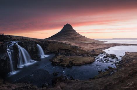 The land of dreams / kirkjufell Iceland