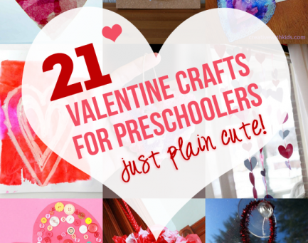 Valentine's Crafts for Preschoolers