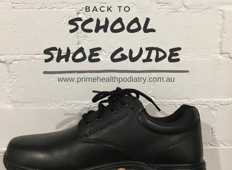 Back to school shoe guide