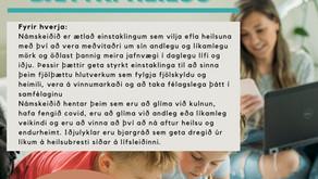 Nýtt námskeið - Iðjulyklar að bættri heilsu