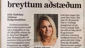 Handaþjálfun og ráðgjöf á skjá