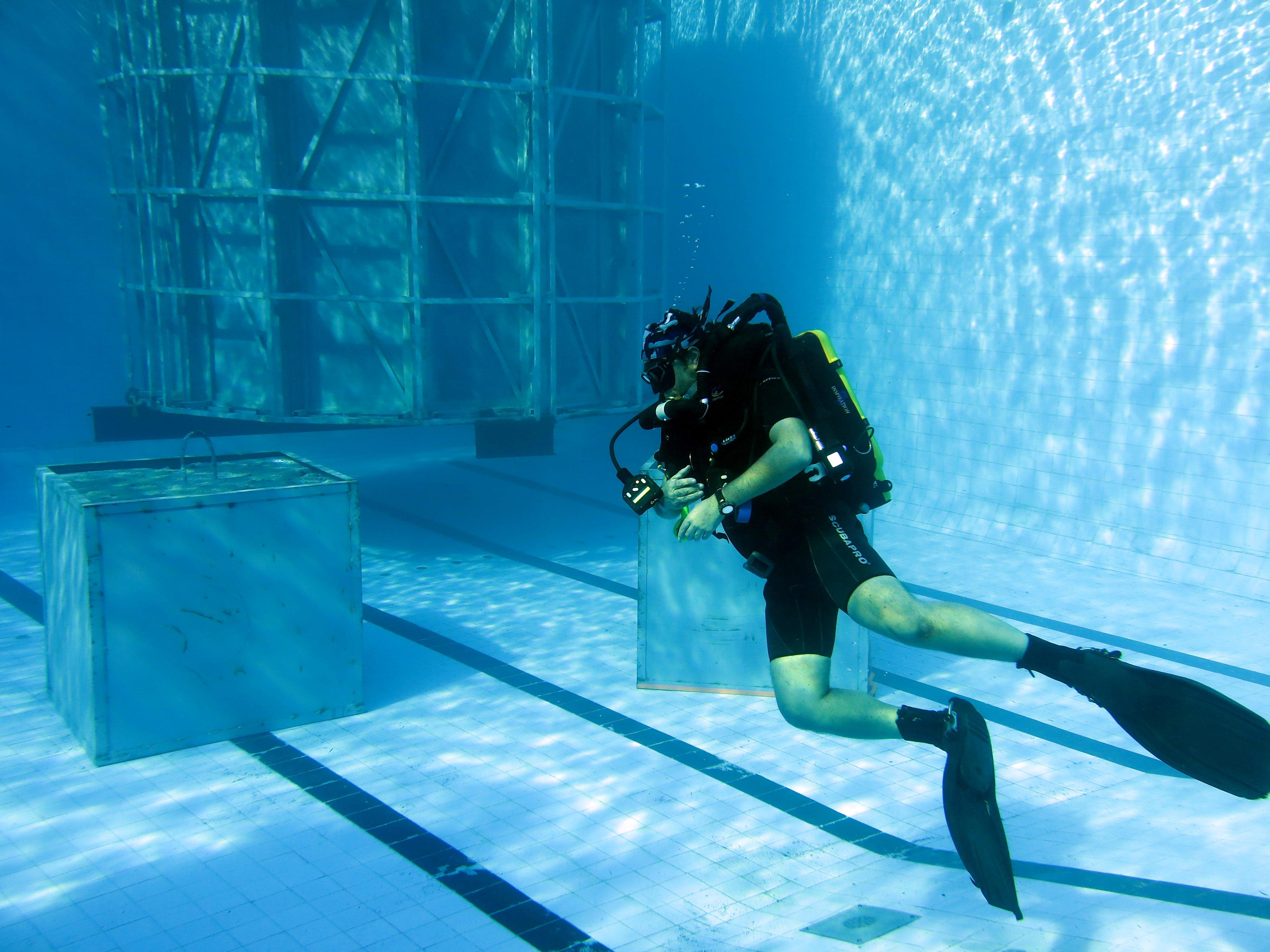 FP underwater