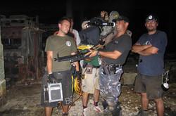 handheld with moviecam, machine gun