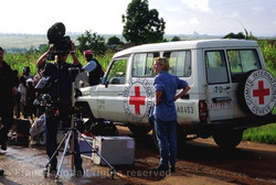 Filming in Angola
