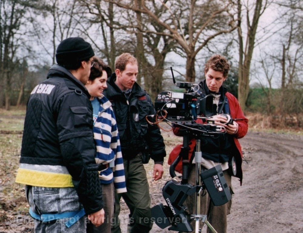 Filming streadicam in Pinewood backl