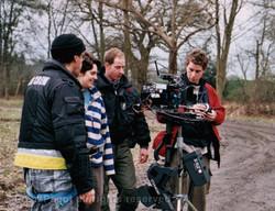 Filming streadicam in Pinewood backl