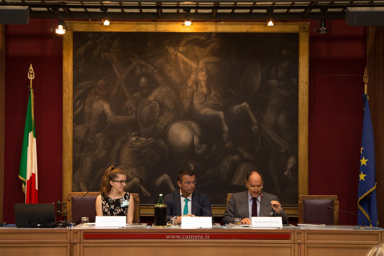 Presentazione in Parlamento