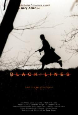 poster BLACK LINES