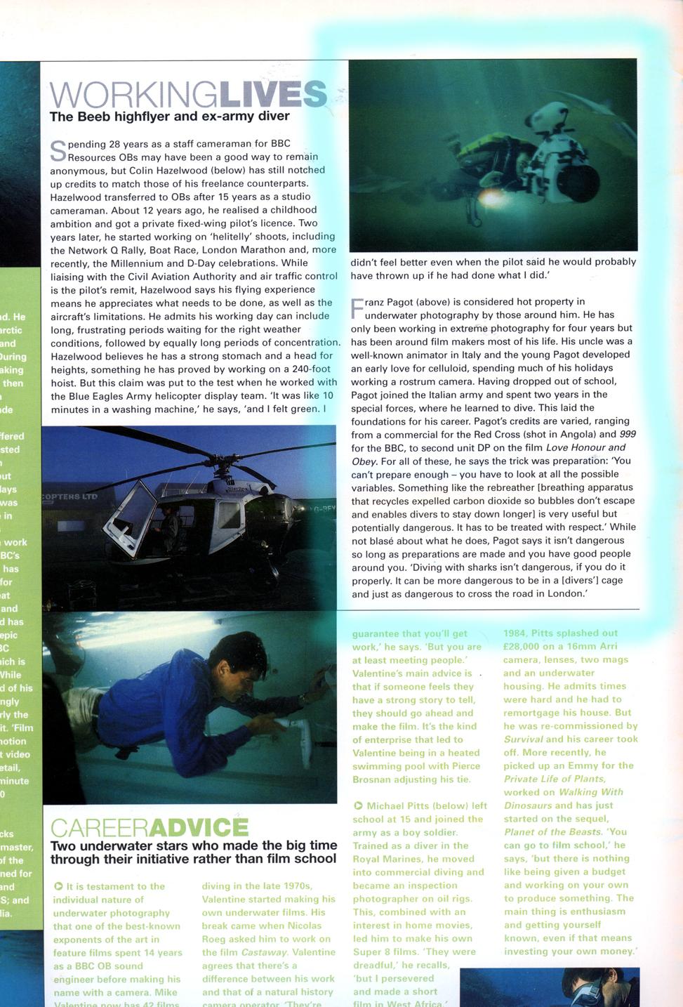 Broadcast magazine